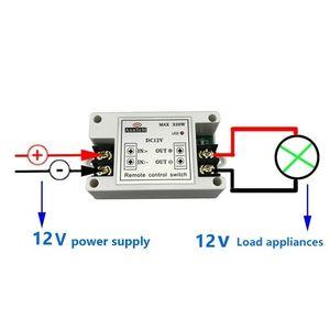 Image 3 - รีโมทคอนโทรลไร้สาย 433 mhz เครื่องส่งสัญญาณ rf 12 v Universal Power Circuit Controller รถ led Strip Light