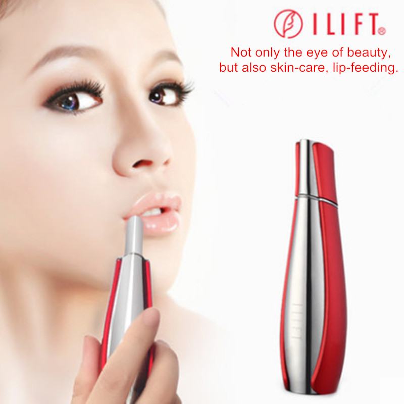 Eye+lip+facial care Dispel wrinkles remove pouch black rim Facial Care Ionic Beauty Device Electronic vibrating Ion Massager цена