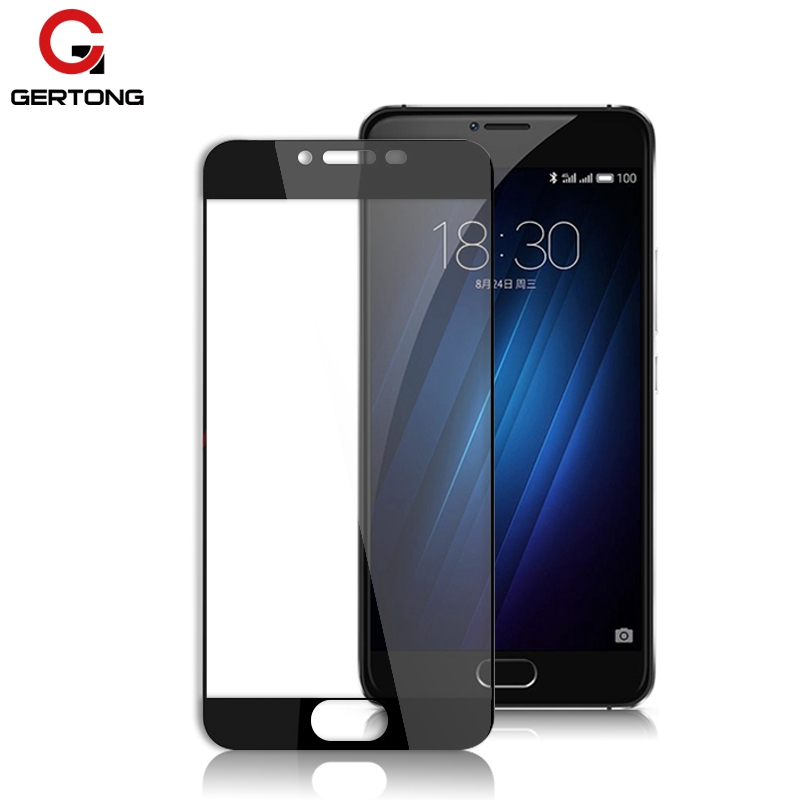 Full Cover Tempered Glass For Meizu M5C M3 M5 M6 Note M3S Mini M3E M5S M3X MX6 Pro 6 7 Plus Metal U20 U10 Screen Protector Film