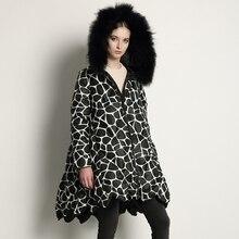 2016 Winter Jacket women jackets and coats raccoon fur hooded parka Loose Maternity women's down coat female down coat Outwear