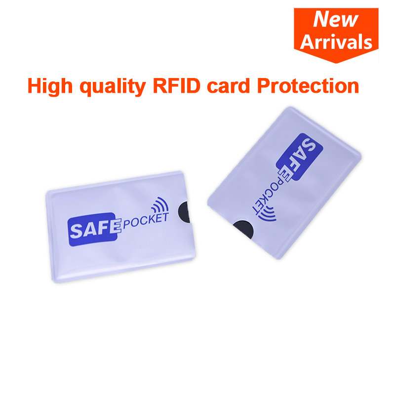 10Pcs/Set RFID Shielded Sleeve Card Blocking 13.56mhz IC RFID Card Protection NFC Security Card Prevent Unauthorized Scanning 2pcs lot rfid protection sheath ic card shielded sleeve nfc security card storage home office storage