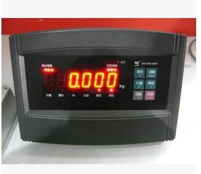 Compteur sans fil XK3190-AW1, balance électronique, balance plate-forme, compteur de poids, tête de compteur sans fil.