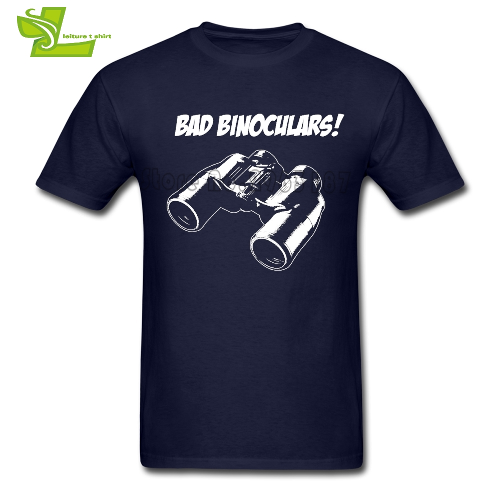 Twin Peaks Bad Binoculars T Shirt Guys Latest Simple Camisetas Cool Classic T-Shirt Mens Short Sleeve Personalized Dad Top