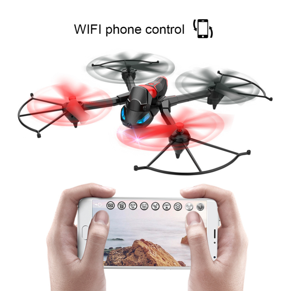 Wifi FPV RC Drone Quadcopter DIY Tank Stunter 2.4Ghz 6-Axle Gyro Remote Control Drone with HD 0.3MP Camera Altitude Hold RC Toys new wifi fpv rc quadcopter with hd camera 2 4ghz remote control rc drone with led night light altitude hold mode 360 degree roll