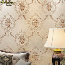Carved Damascus wallpaper for walls 3 d European 3D PVC Embosse mural WallPaper for Living room Bedroom Floral Wall paper Roll