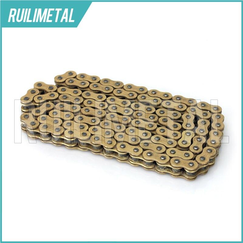 Золотые цепи приводные цепь 520 х 120 х одной-кольцо для Kawasaki KX250 KX250F KX450F 92-08 04-16 KL450R 07-16 Байк МХ бездорожья