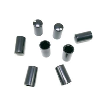 Potencjometry 7 5*14 MM gałki 6 MM otwory piłokształtne potencjometry dopasowane czapki czarny tanie i dobre opinie Synthetic Carbon Film Potentiometer