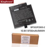 KingSener BP3S3P2900 2 Multimedia Bay Battery For Getac B300 Rugged Notebook 3ICR19 66 3 BP3S3P2900 P 441831700026 10.8V 8700mAh