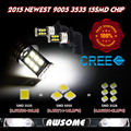 NUEVA LLEGADA!! 2x9005 HB3 H10 15SMD 3535 LED Xenon Blanco Faro de Niebla Del Coche DRL Que Conduce la Lámpara 800LM ~ 900LM Ultra brillante
