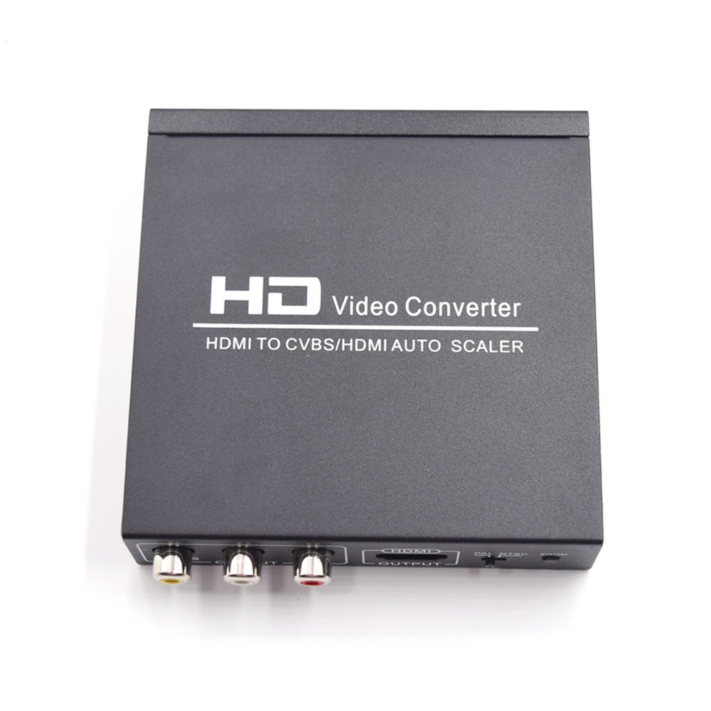 HDMI to CVBS /HDMI Auto Scale, HD Video capture converter, from HDMI to HDMI/ CVBS support HDCP code hdmi to cvbs hdmi scaler capture video audio from hdmi input to hdmi cvbs support hdcp code free shipping