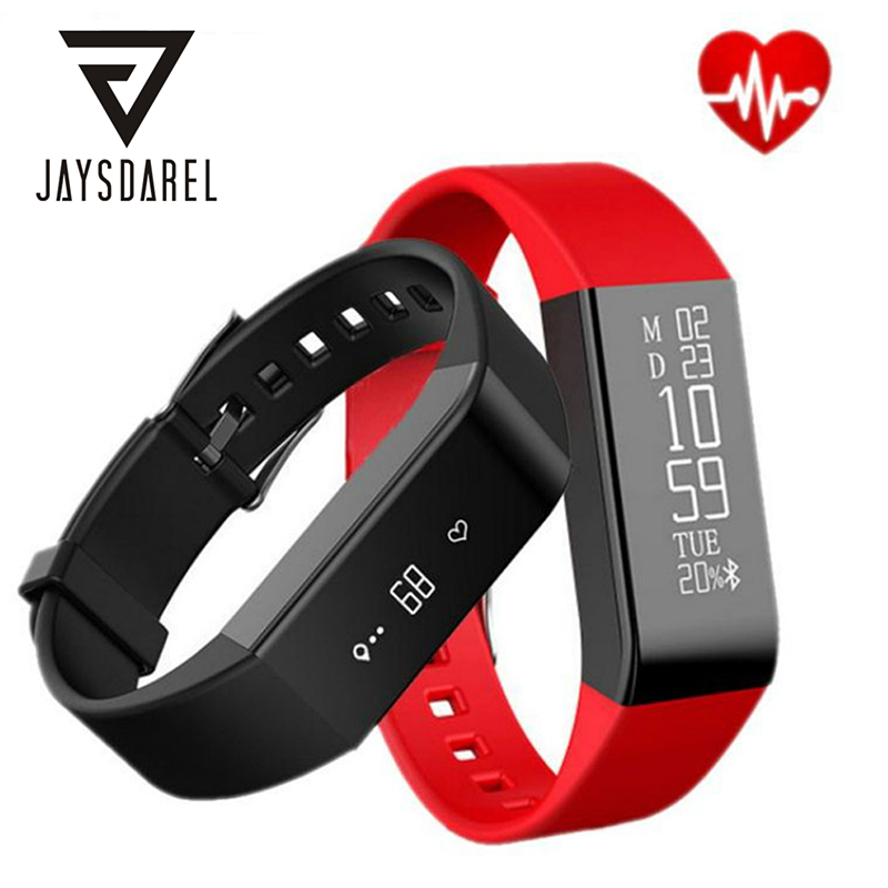 Vidonn A6 OLED Heart Rate Monitor Smartwatch Bracelet IP67 Waterproof Fitness Tracker Smart Wristband Sport for Android iOS edwo df23 smartband heart rate monitor waterproof swimming smart wristband health bracelet fitness sleep tracker for ios android