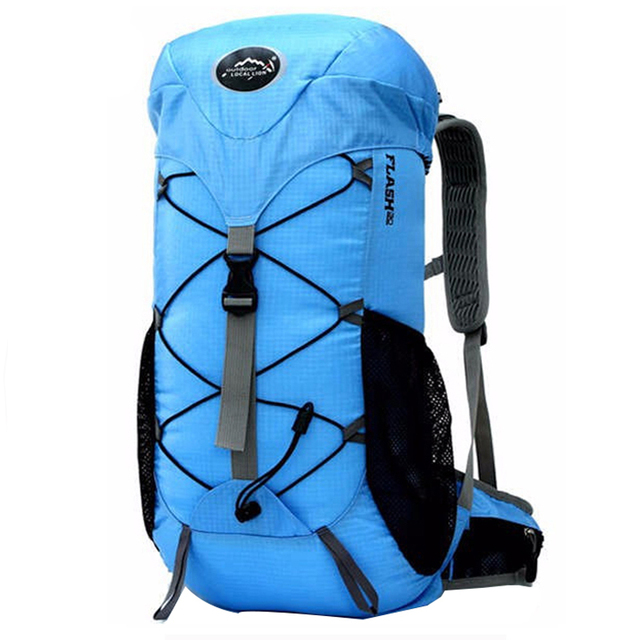 Hot Large Outdoor Waterproof Backpack Camping Bag Waterproof Mountaineering Hiking Backpacks Travel Sports Bag Climbing Rucksack
