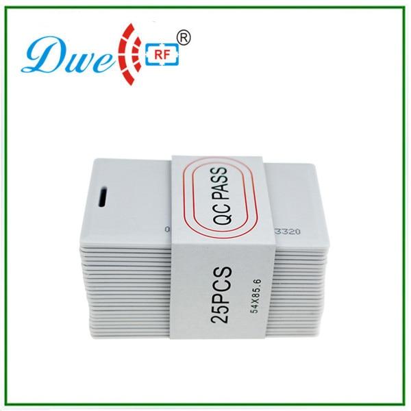 Proximity plastic pvc card 125khz passive waterproof em id rfid tag for 1m long range reader