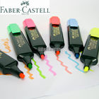 LifeMaster Faber Castell Textliner Highlighters Marker Pen Orange/Pink/Red/Green/Blue/Yellow Writing Supplies