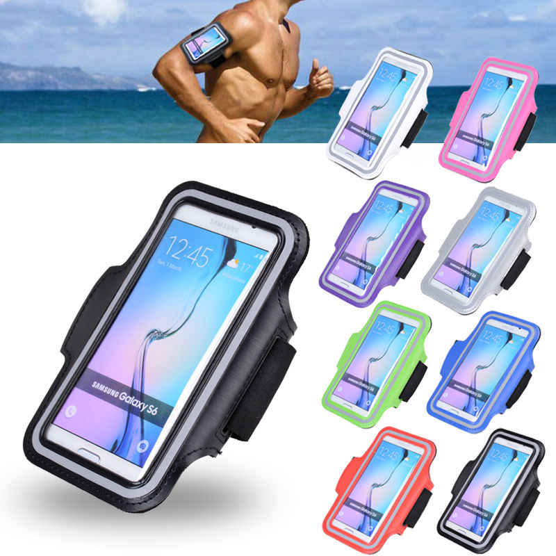 "6"" Running Sports Waterproof Armband For XiaoMi 9 SE 8 A2 A1 Samsung S8 S9 S10 S10E Note 9 8 iphone 6 6s 7 Plus X XR XS MAX Case"