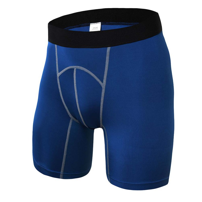 2018 Men's Shorts High Waist Base Layer Thermal Skin Shorts For Men Workout Compression Hot Shorts S-XXL
