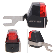 Waterproof Mini Bike Bicycle LED Lighting M58 Disc Brake Rear Lamp High-Strength Plastic +Stainless Steel Body Cycling Light