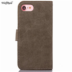 WolfRule For Case Iphone 8 Plus Cover Flip PU Leather Wallet Magnet Card Slot Case For Iphone 8 Plus Case For iPhone 8 Plus 2