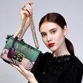 ZOOLER натуральная кожа сумка 2016 новых женщин сумки посыльного Малый креста тела цепи сумки на ремне цвета бесплатная доставка #1911