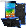 Case Для Lenovo K3 Note Крышка Мягкая Кремния и Жесткий Plastic Case Для Lenovo A7000 Lemon K3Note K50 Телефон Стенд Fundas