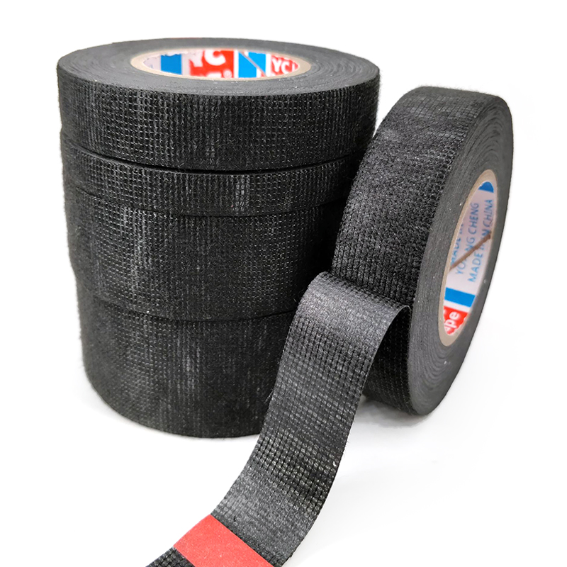 1pc Heat-resistant Wiring Harness Tape Looms Wiring Harness Cloth Fabric Tape Adhesive Cable Protection 9/15/19/25/32MM X 15M