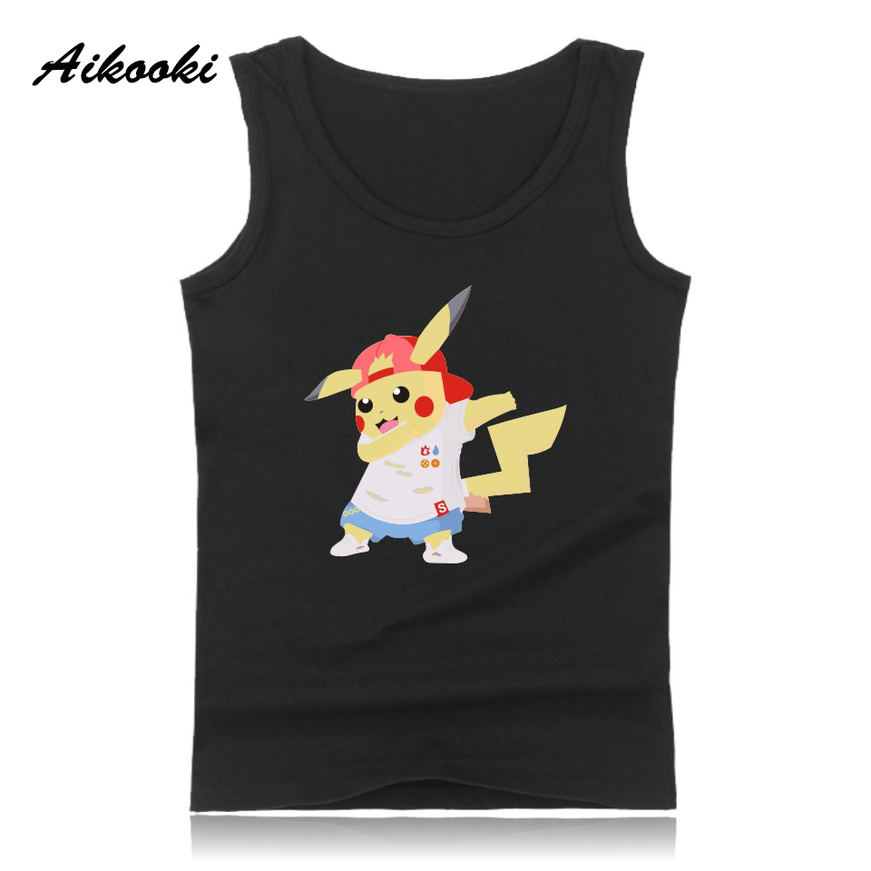 Funny Animals Vest Men Women   Tank     Tops   Casual Cotton Pop   Tank     Tops   Men's Hip Hop Summer Male Female Fashion Vest Man   Tops