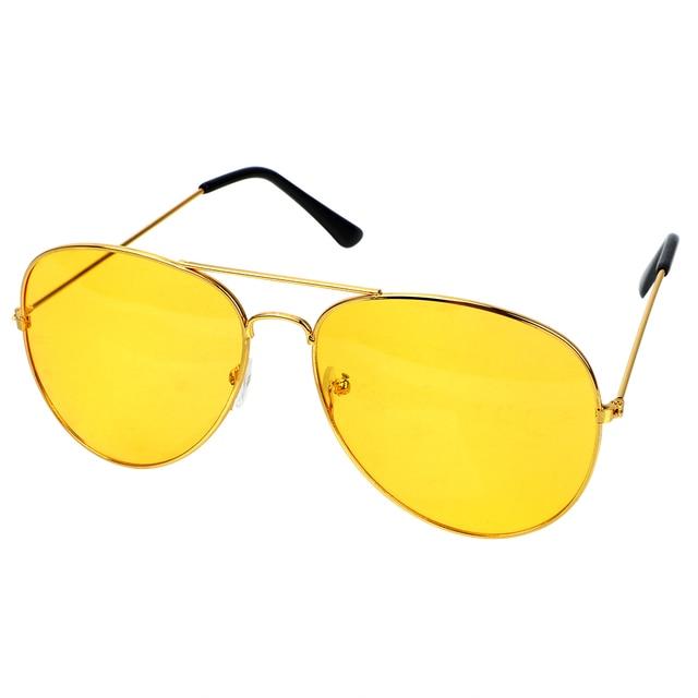 Anti-glare Polarizer Sunglasses Car Drivers Night Vision Goggles Polarized Driving Glasses Copper Alloy Sunglasses 1
