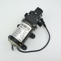 8L/Min 100w 100psi small electric diaphragm High Pressure automatic pressure switch dc 12v sprayer pump for car washer