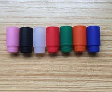 E-XY 510 silicone disposable drip tips Test Drip Tips Mouthpiece Individually Package 7 colors optional E-cigarette accessories