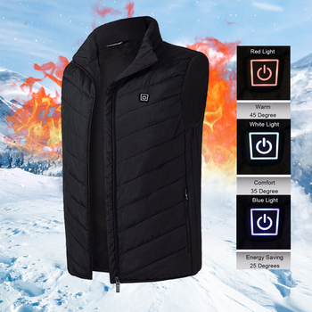 USB Heating Electric Jacket