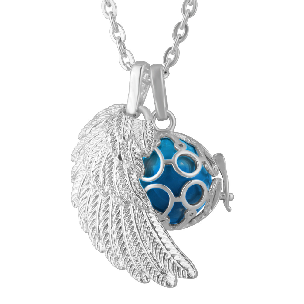 Angel wing harmony chime ball angel caller sounds bell mexican bola angel wing harmony chime ball angel caller sounds bell mexican bola pregnant woman chain necklace pendent baby gift in pendants from jewelry accessories aloadofball Images