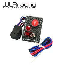 WLRING STORE- Brand New Racing Car Electronics One Switch Kit Panel Engine Start Button toggle with accessory WLR-QT312