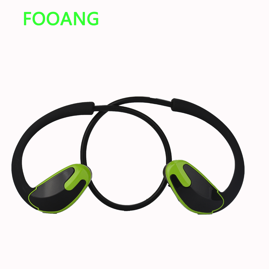 FOOANG Sports bluetooth headset 4.1 mini stereo wireless earphones bass No entanglement  HIFI HD Noise reduction Prevent sweat elivebuy one drag two bluetooth earphones hd sound stereo bass wireless headset noise reduction running mp3 music earbuds