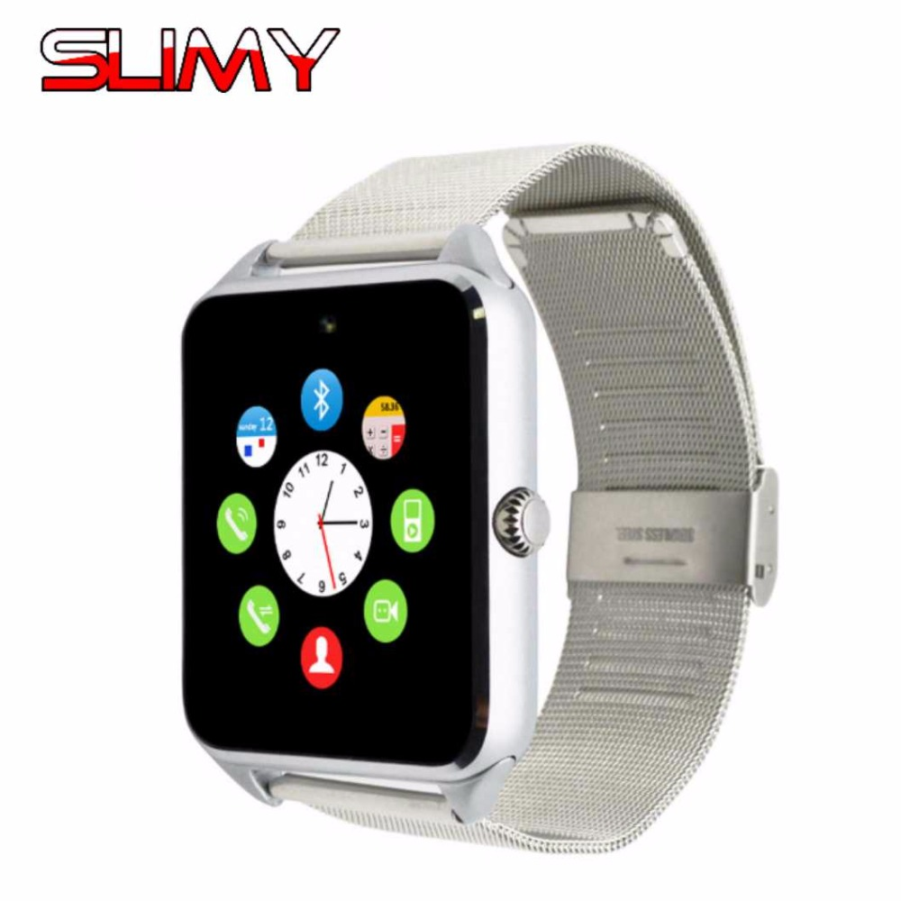 Slimy Bluetooth GT08 Plus Smart Watch Relogio Android Smartwatch Phone Call 2G SIM TF Camera for IOS Samsung HUAWEI VS A1 Q18