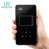U9 4000 Lumens Portable Mini LED Projector Wifi Smart DLP Pico Projector HDMI USB Wireless Control