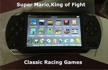 Бесплатная Доставка портативных Игровых Консолей 4.3 дюймов экран mp4 плеер MP5 игрок настоящее 8 ГБ поддержка psp игры, камера, видео, электронная книга