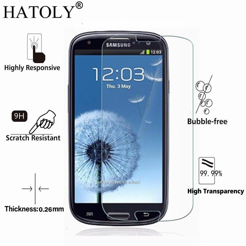 Galleria fotografica 2PCS Tempered Glass For phone glass <font><b>Samsung</b></font> <font><b>Galaxy</b></font> S3 I9300 Screen Protector <font><b>Galaxy</b></font> S3 Film For <font><b>Samsung</b></font> <font><b>Galaxy</b></font> S3 Glass HATOLY