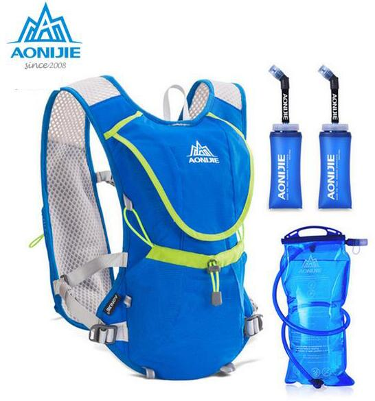 AONIJIE 8L Outdoor Sport Backpack Vest Sports Running Bags Lightweight Climbing Hiking Portable Bag