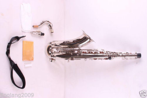 Nickel Plated Alto Sax Saxophone High Quality Low Price