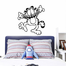 Modern Garfield Wall Stickers Personalized Creative for bedroom Decor Decals adesivo de parede