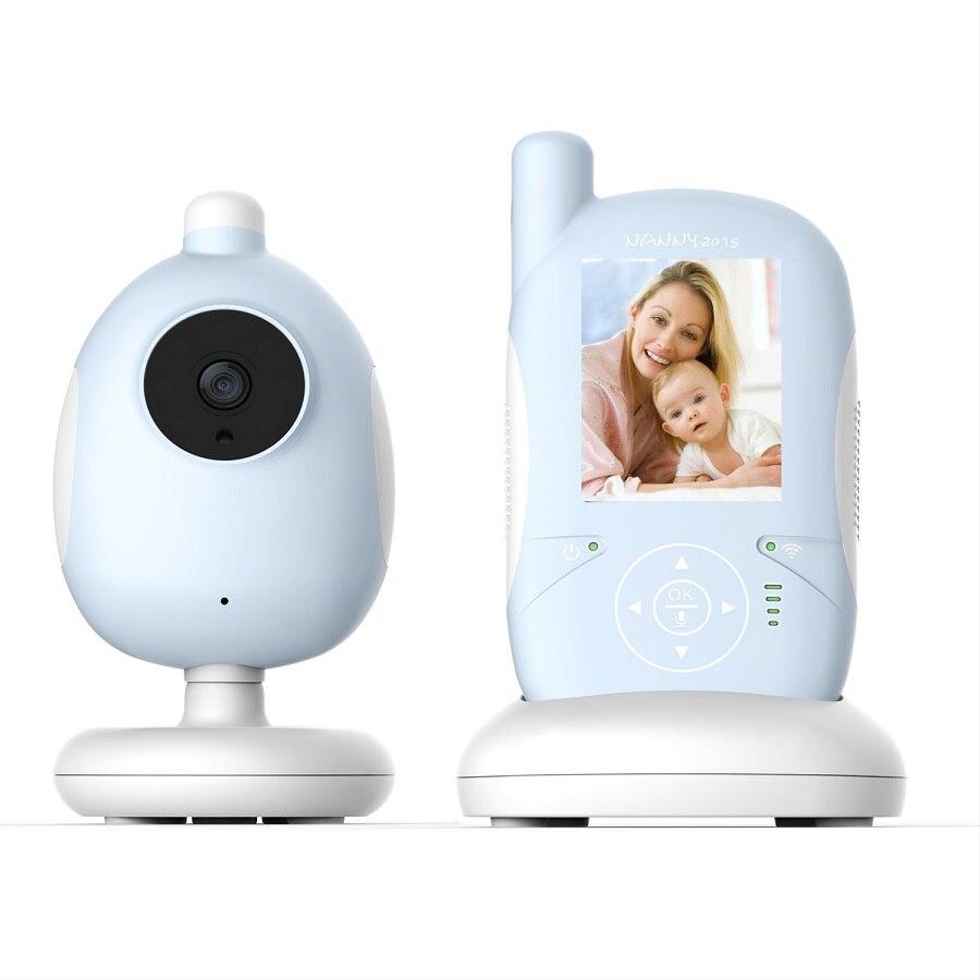 2 4 inch LCD vigilabebes doppler IR Night vision Lullabies Temperature Monitor Intercom Feeding Alarm font