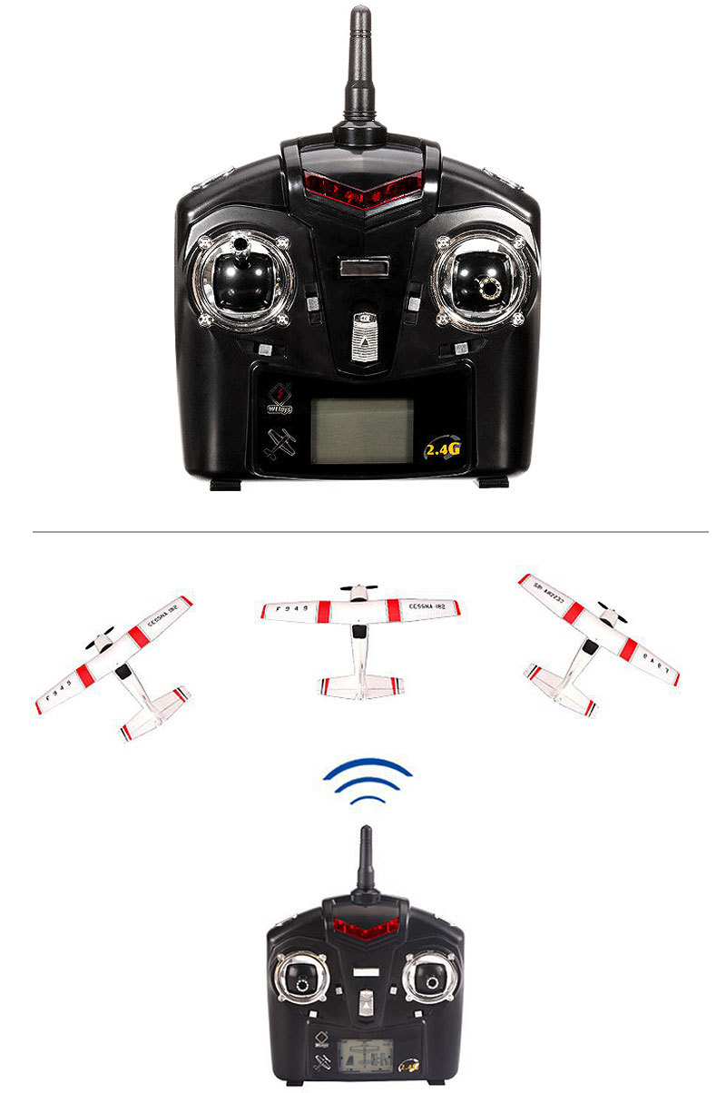 F949-3CH-RC Airplane-Aircraft Quadcopter-RC Toys-display-b
