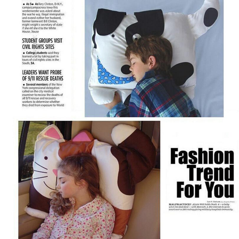 80*50cm Kids Animal cushion covers children Pillowcase Boys Girls Cute Animal Printed Pillow Case For Children Home decor 5O1228