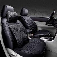 Специальные высококачественные кожаные чехлы для автомобильных сидений для HUMMER H2 H3 автостайлинг автомобильные аксессуары Автомобильные н