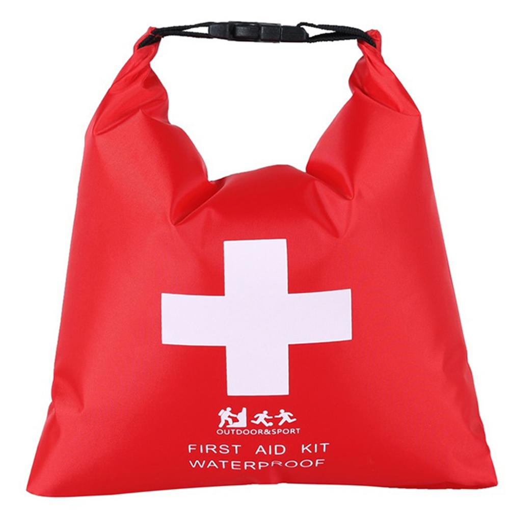1.2L Waterproof Dry Bag First Aid Kit Bag Portable Emergency Kits Case Outdoor Camp Travel Emergency Treatment Pack