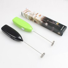 Mini Electric Handle With Milk Drinks Whisk Egg Tool Mixer Beater Foamer Kitchen  Stirrer Tools