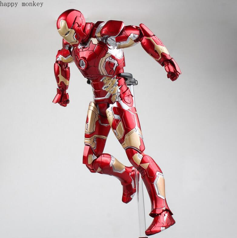 HC HotToys Avengers Age of Ultron Iron Man Mark XLII Gloden PVC Action Figures ToysHC HotToys Avengers Age of Ultron Iron Man Mark XLII Gloden PVC Action Figures Toys