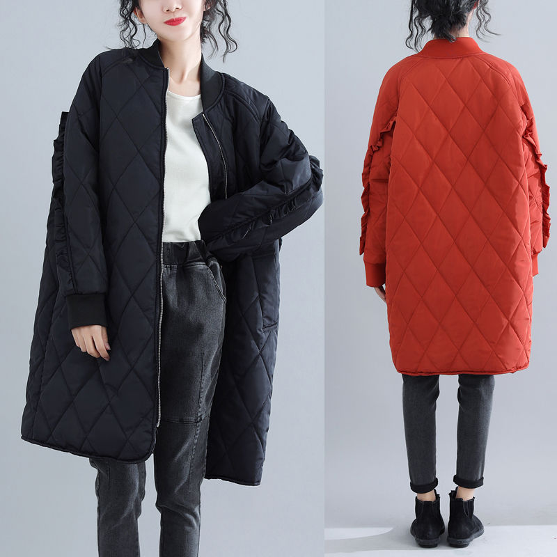 2018 Winter New Arrival Fashion Ladies Jackets Oversize Thick Cotton Padded Coats Winter Women's   Parkas   Chaquetas De Mujer X159