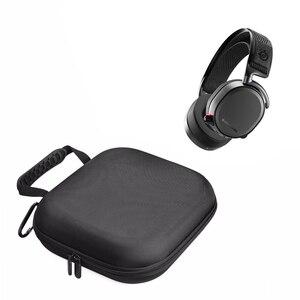 Image 1 - 2019 Nieuwste Carrying Nylon Hard Cover Box & Bag Pouch Groepen Case voor SteelSeries Arctis Pro Gaming Hoofdtelefoon Headsets Tassen