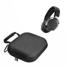 2021 הכי חדש נשיאת ניילון קשיח כיסוי תיבת & תיק פאוץ קבוצות מקרה עבור SteelSeries Arctis פרו משחקי אוזניות אוזניות שקיות